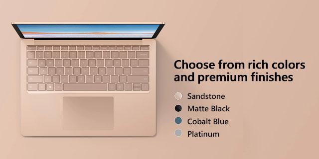Microsoft Surface Laptop3 General Landing Page  Tile 02