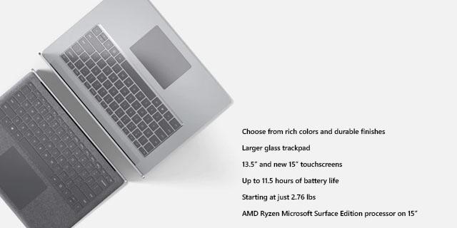 Microsoft Surface Laptop3 General Landing Page  Tile 05
