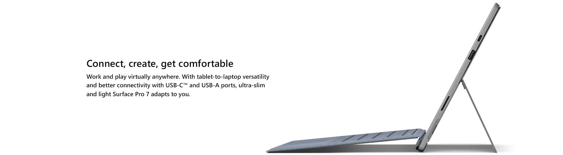 Microsoft Surface Pro7 General Landing Page  Tile 02