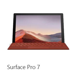 Microsoft Surface Pro7 Landing Page Navigation   Nav Tile 01