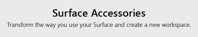 Microsoft Surface Store Revamp Acc Tile Grey