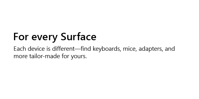 Microsoft Surface Store Revamp   Tile Acc Every