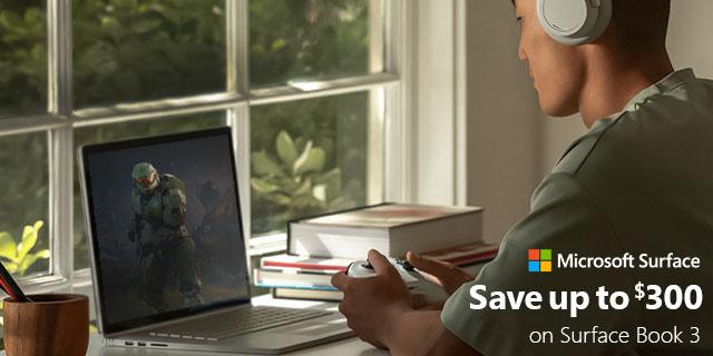 Microsoft Surfacebook3 Saveupto300 04.19.2021banner4