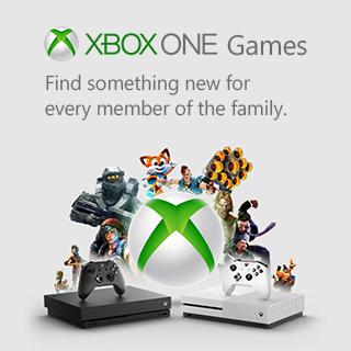 Microsoft Xbox Games Banner