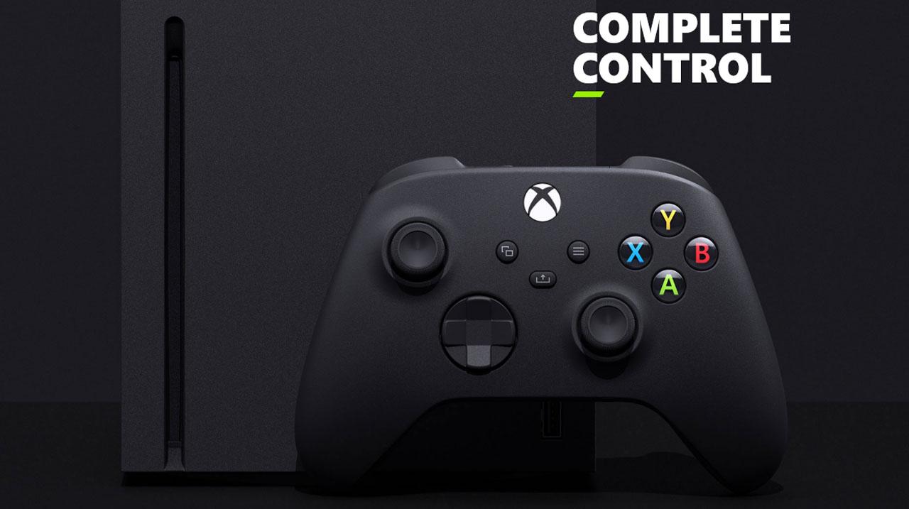 Microsoft Xbox Series X Informational  Control