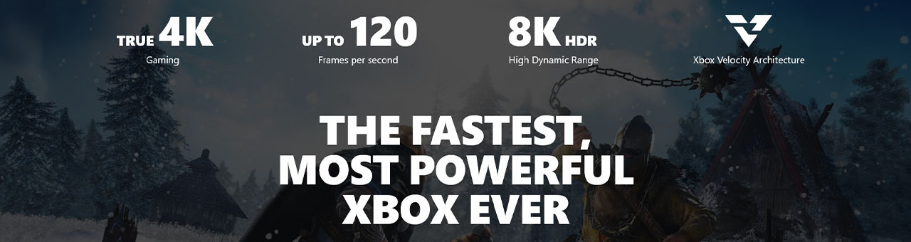 Microsoft Xbox Series X Informational  Stats