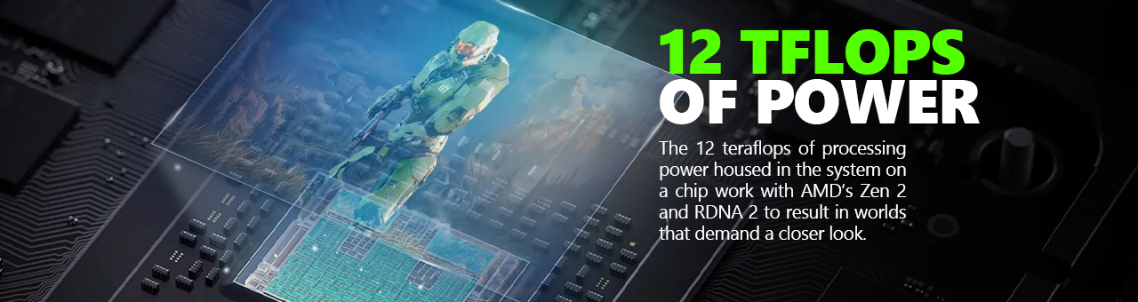 Microsoft Xbox Series X Informational  Tflops