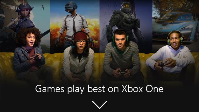 Microsoft Xbox One Games General Edits  Banner 01