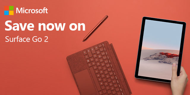 Microsoft Surface Go 2 Red