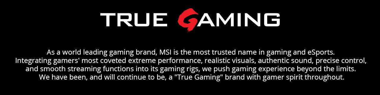 Msi Gaming Closing Banner
