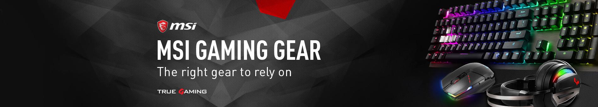 Msi Gaming Accessories General  Banner 01