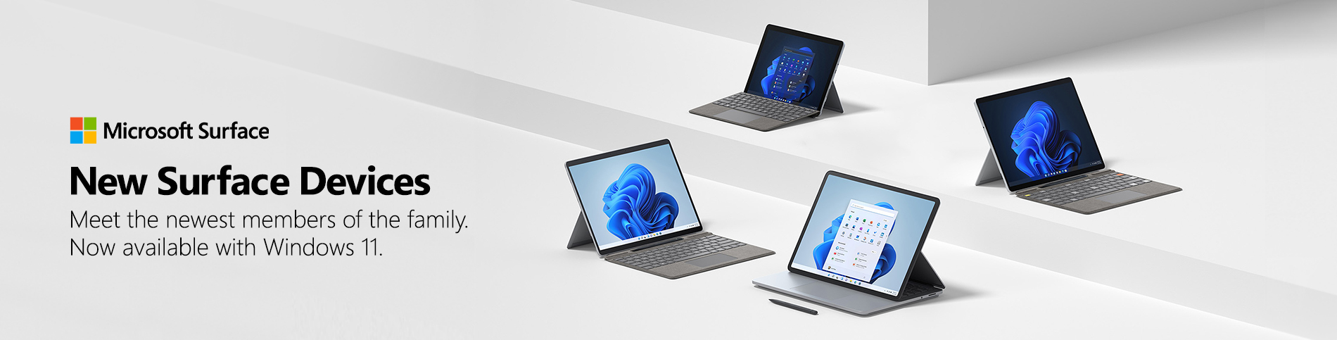 New Surface Banner