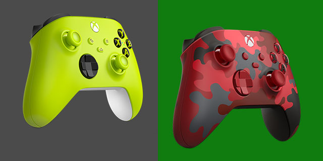New Xbox Wireless Controllers Banner
