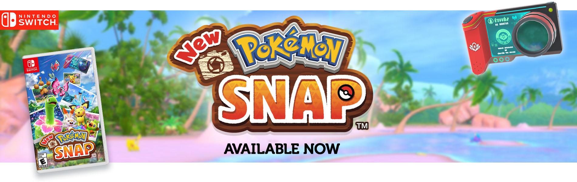 Nintendo Newpokemonsnap Launch 04.30.banner