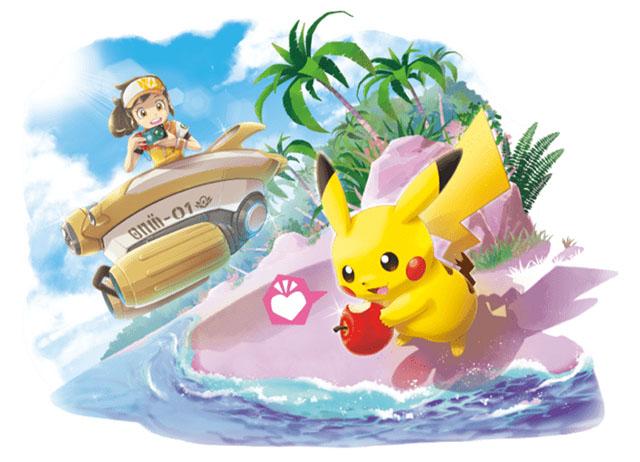 Nintendo Newpokemonsnap Launch 04.30.2021pikascene