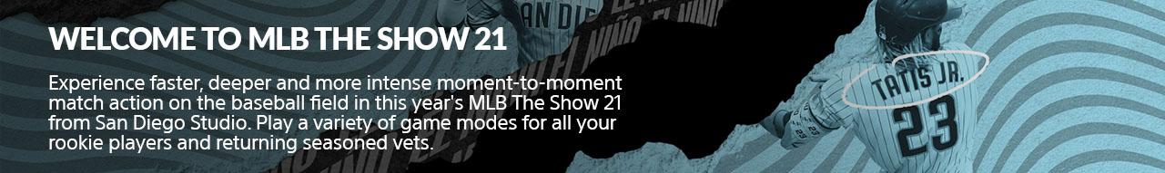 Sony Mlbtheshow21 4.16.2021welcome