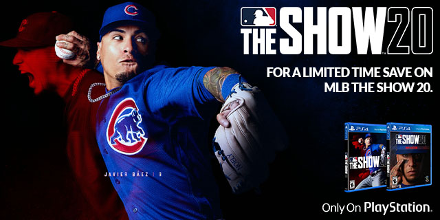 Sony Playstation Mlb Theshow  Banner 01