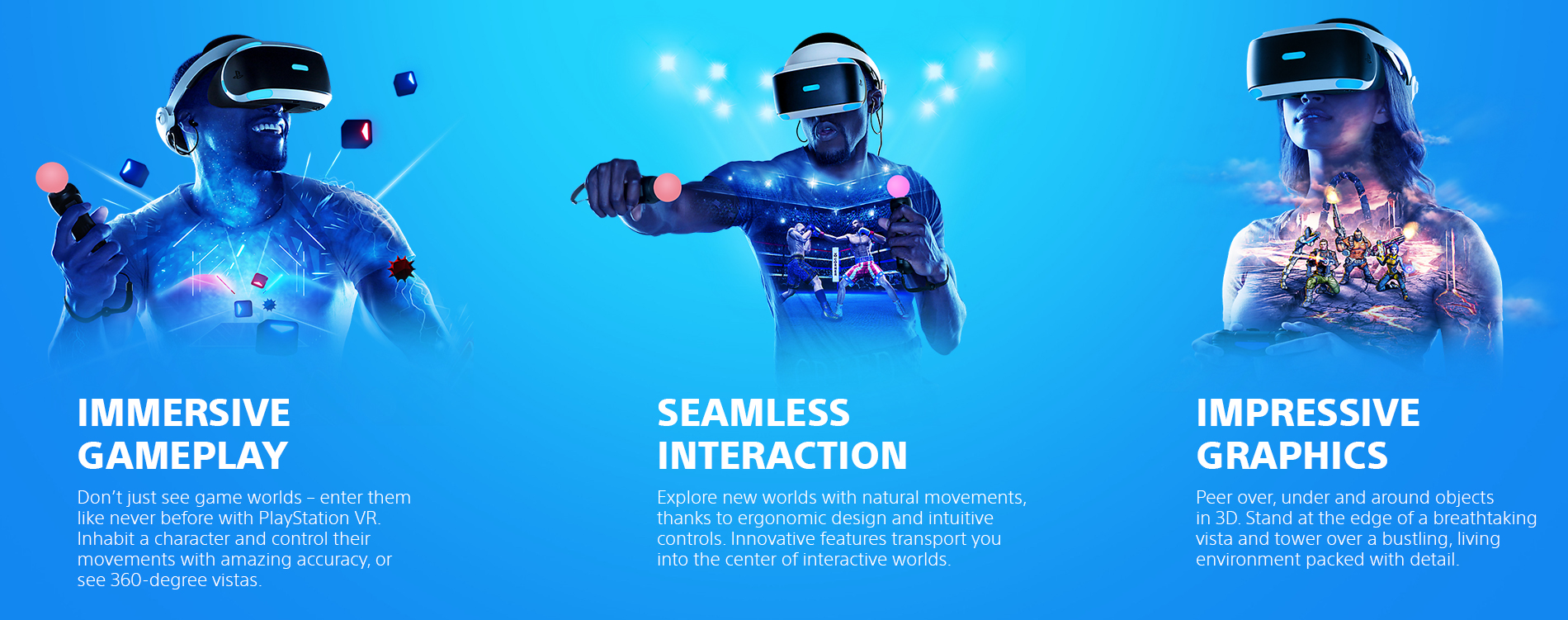 Sony Playstation Vr Landing Page  Tile 01