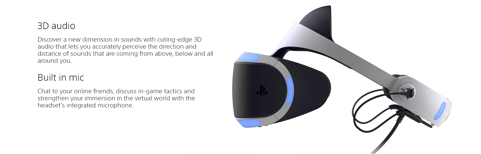 Sony Playstation Vr Landing Page  Tile 03