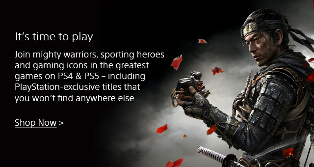 Sony Playstation 4 Landing Page  Tile 03