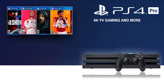 Sony Playstation 4 Pro General  Banner 01