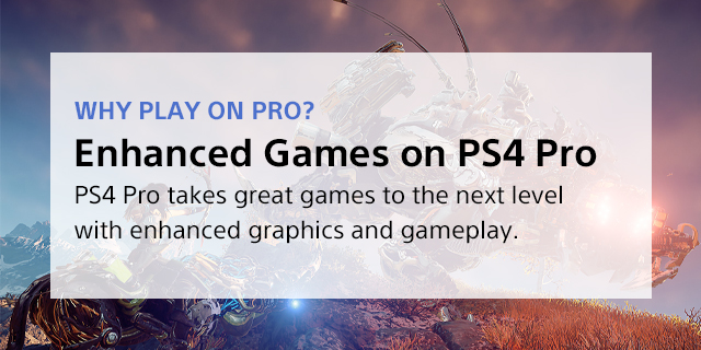 Sony Playstation 4 Pro Landing Page  Tile 02