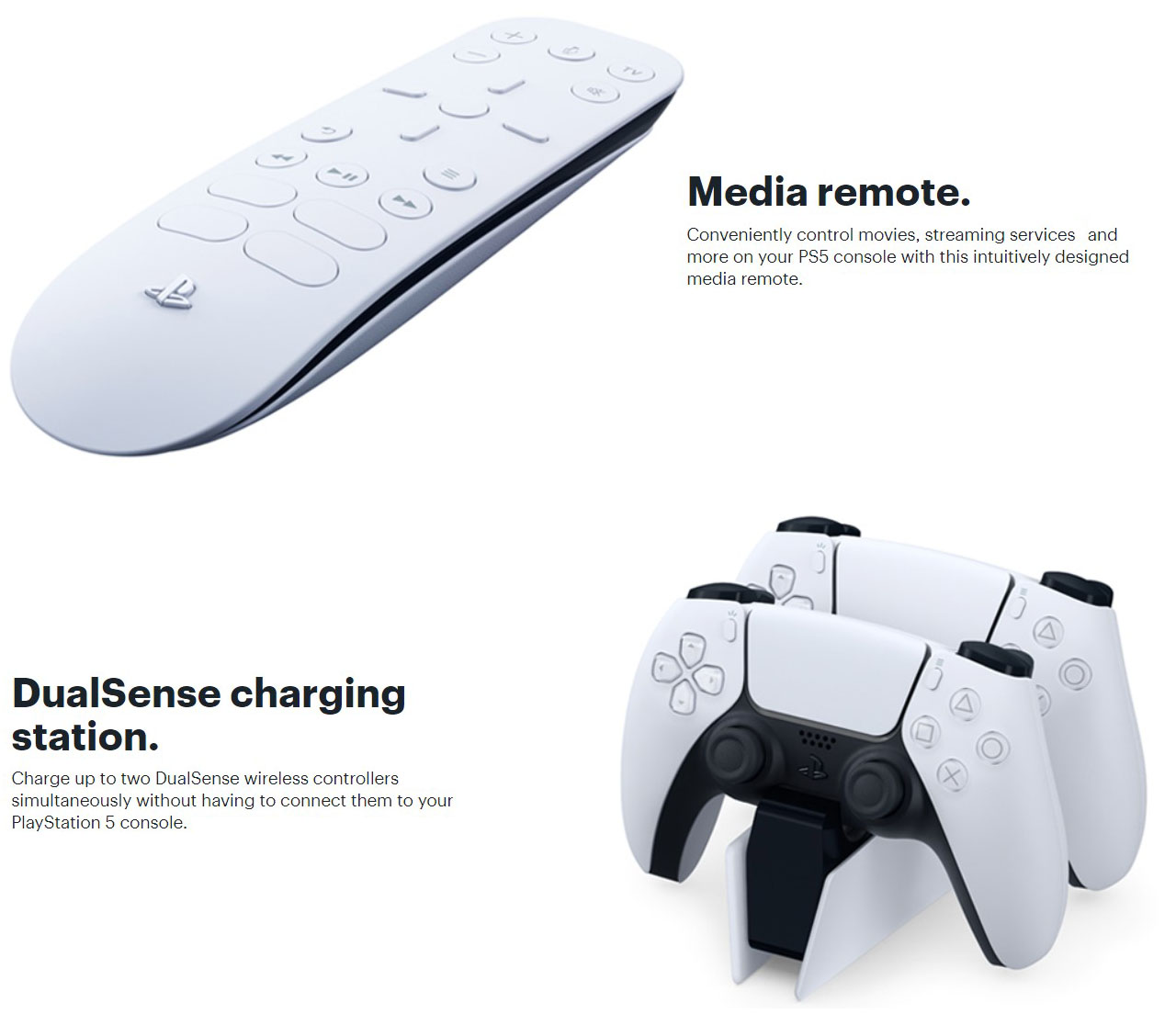 Sony Playstation 5  Charger Remote