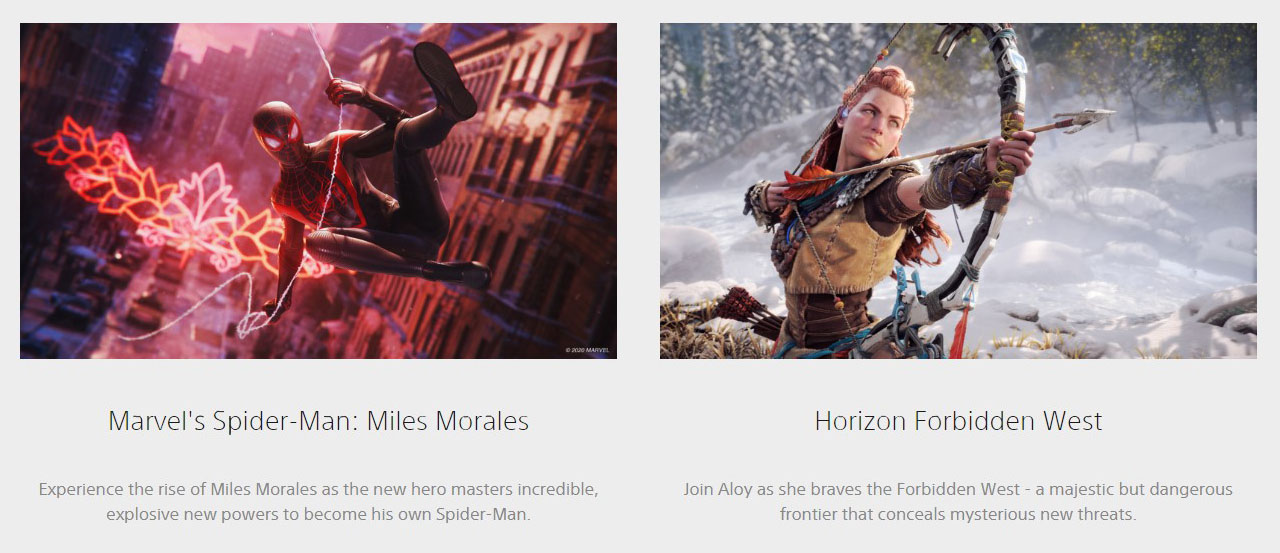 Sony Playstation 5  Games1