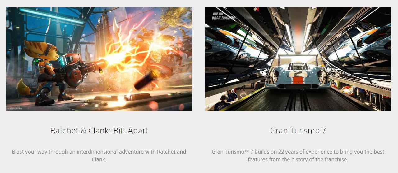 Sony Playstation 5  Games3