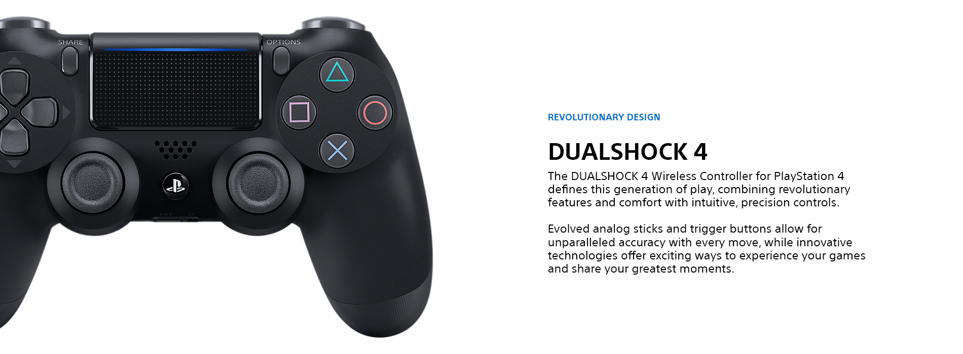 Sony Playstation Controllers Landing Page  Tile 02