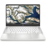"HP 14 14"" Chromebook Intel Celeron N4000 4GB RAM 32GB eMMC Ceramic White"