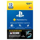 PlayStation Plus 12 Month Membership & MLB the Show 21 Promo Pack (Email Delivery)