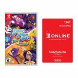 DC Super Hero Girls: Teen Power for Nintendo Switch + Nintendo Switch Online Family Membership 12 Month Code