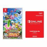 New Pokemon Snap for Nintendo Switch + Nintendo Switch Online Family Membership 12 Month Code