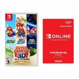 Super Mario 3D All-Stars Nintendo Switch + Nintendo Switch Online Family Membership 12 Month Code