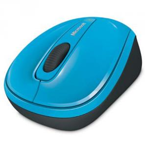 Microsoft 3500 Wireless Mobile Mouse- Cyan Blue