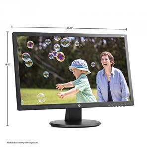 "HP 24uh 24"" Monitor Black"