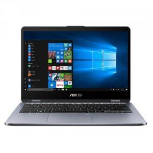 Asus VivoBook Flip TP410UA-DH54T 14.0 inch Touchscreen Intel Core i5-8250U 1.6GHz/ 8GB DDR4/ 256GB SSD/ USB3.0/ Windows 10 Notebook (Star Gray)