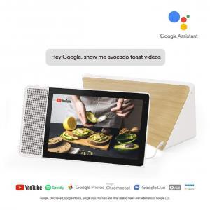 "Lenovo 10"" Smart Display White & Bamboo"