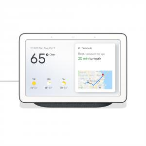 "Google Nest Hub 7"" Touchscreen w/ Smart Home Assistant Charcoal"