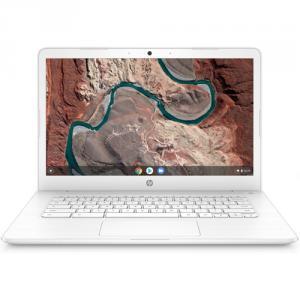 "HP 14"" Touchscreen Chromebook AMD A4 4GB RAM 32GB eMMC Snow White"