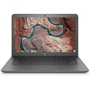 """HP 14"""" Chromebook AMD A4 4GB RAM 32GB eMMC Gray"""
