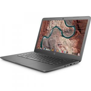 "HP Chromebook 14 14"" HD Touchscreen Laptop AMD A4-9120C 4GB RAM 32GB eMMC Chrome OS Chalkboard Gray"