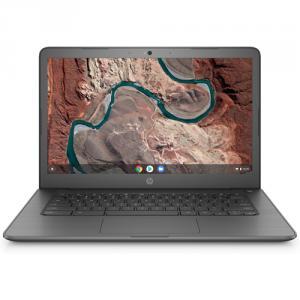 """HP 14 14"""" Chromebook AMD A4 4GB RAM 32GB eMMc Chalkboard Gray"""