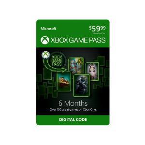 Microsoft Xbox Game Pass 6-Month Membership (Digital Code)