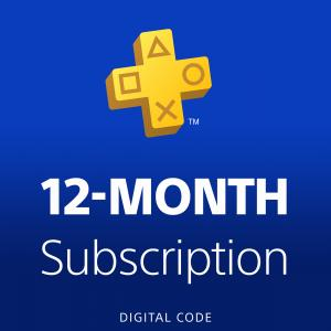 PlayStation Plus 12 Month Membership (Email Delivery)