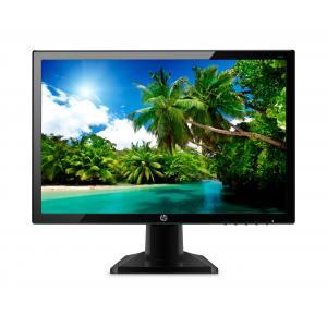 """HP 20KD 19.5"""" LED Backlit Monitor Black"""