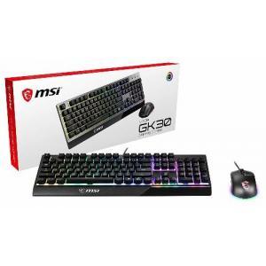 MSI Vigor GK30 Combo w/ GK30 Gaming Keyboard & Clutch GM11 Gaming Mouse