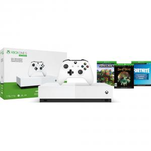 Xbox One S All Digital Edition Console Bundle w/ Fortnite exclusive