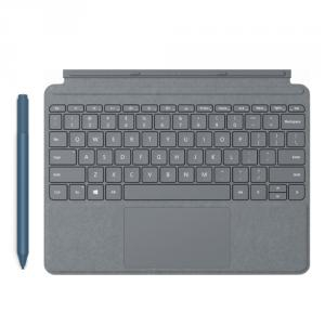 Microsoft Surface Go Signature Type Cover Platinum + Surface Pen Ice Blue